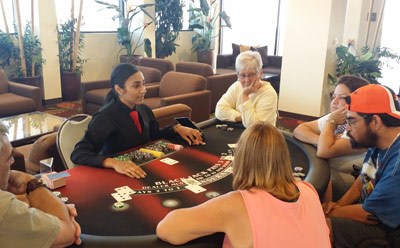 Blackjack Social at Tahiti Village - Las Vegas, NV