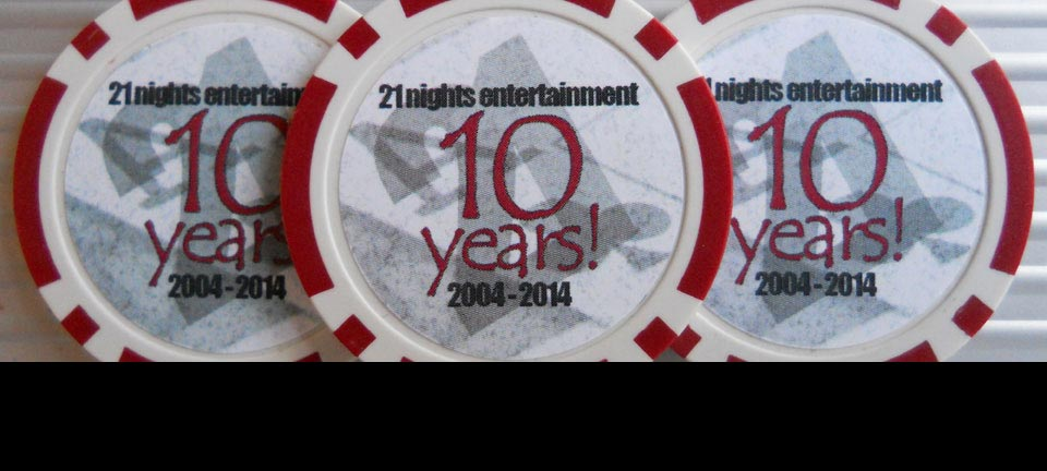 21 Nights Entertainment celebrates 10 years in business!
