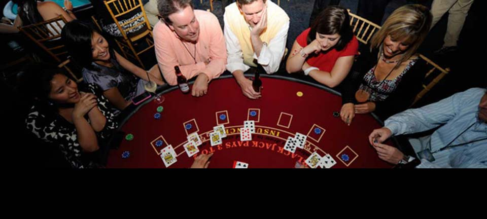 Blackjack Table and Dealer for Corporate Event in New York City