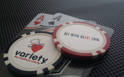 Custom Casino Chip for High 5 Games